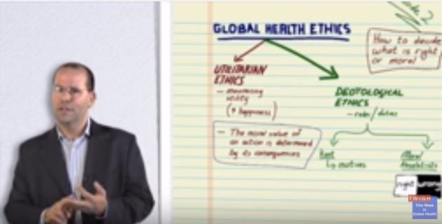 Photo of ویدئو: اخلاق سلامت جهانی (به انگلیسی)