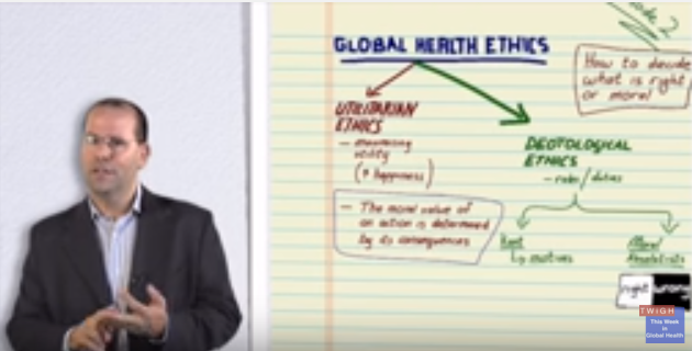 Photo of Global Health Ethics – A Framework for Thinking