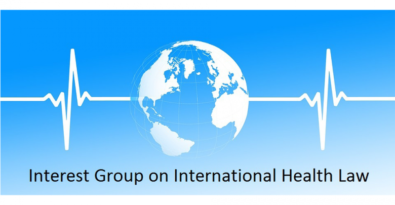 Photo of ESIL IG Event – Global Health Governance, The Power of Law