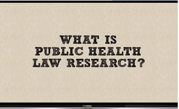 Photo of What is Public Health Law Research?